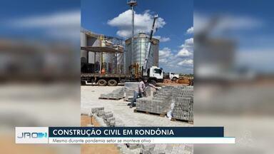 Mesmo durante pandemia, setor da construção civil em Rondônia se manteve ativo - Ainda conseguiu contratar mais profissionais do que demitir.