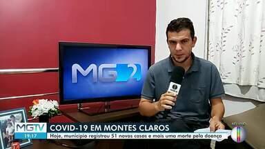 Mais 51 casos de coronavírus são confirmados em Montes Claros - Município também confirmou mais um óbito e subiu para 20 o número de mortes.
