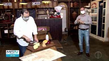Produtores de queijo usam internet para comercializar produtos - Produtores tiveram que se reinventar durante a pandemia.