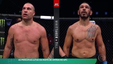 As principais lutas da noite de ontem (25/07) no UFC - As principais lutas da noite de ontem (25/07) no UFC