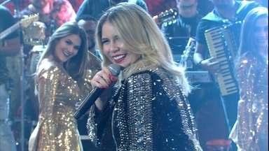 Marília Mendonça canta ' Eu sei de Cor' - 'Domingão do Faustão relembra participação da cantora no 'Ding Dong'