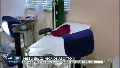 Justiça decreta prisão preventiva de médico que trabalhava em clínica de aborto - O médico Bruno Gomes da Silva foi preso, na última sexta-feira (24), em flagrante, ao lado do assistente, três mulheres e o marido de uma delas. Bruno era reincidente na prática deste mesmo crime.