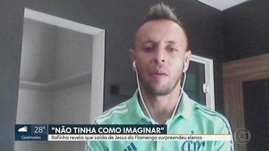 Rafinha revela que saída de Jorge Jesus surpreendeu elenco do Flamengo - Rafinha revela que saída de Jorge Jesus surpreendeu elenco do Flamengo