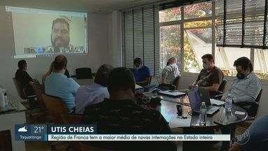 Prefeitos se unem para pedir ao governo ampliação de leitos de UTI na região de Franca, SP - Chefes do Executivo também querem mais insumos para aumentar a capacidade hospitalar durante a pandemia.