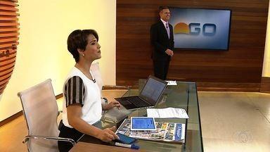 Suelen e Handerson mandam abraços - Participe do Bom Dia Goiás por meio das nossas redes sociais ou pelo app QVT.