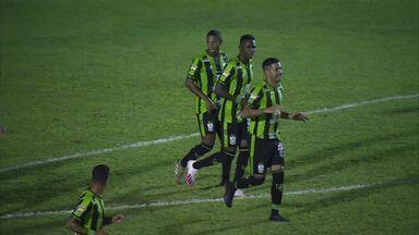 América-MG vence a URT por 3 a 0 e avança para semifinal; Diego Ferreira pleiteia gol - América-MG vence a URT por 3 a 0 e avança para semifinal; Diego Ferreira pleiteia gol