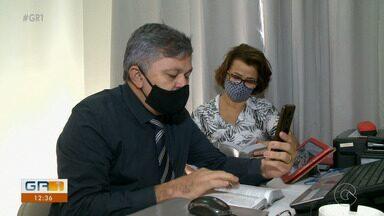 Visitas das Testemunhas de Jeová foram suspensas durante a pandemia - Em Petrolina, os integrantes da igreja precisaram se adequar e estão utilizando o celular para passar as mensagens de esperança
