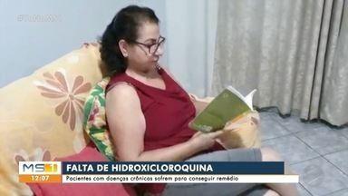 Pacientes de doenças crônicas procuram por hidroxicloroquina durante a pandemia - Pacientes de doenças crônicas procuram por hidroxicloroquina durante a pandemia