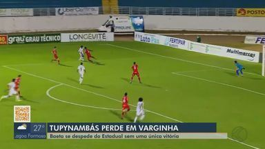 Tupynambás perde para Boa Esporte e termina Mineiro sem vencer - Já rebaixado, lanterna Baeta perdeu por 1 a 0 em Varginha.