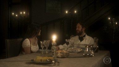 Anna afirma que jamais amará Thomas - Thomas aceita, mas garante que a mulher também não ficará mais com Joaquim