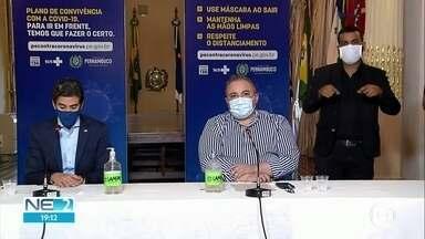 Estado libera academias, restaurantes e parte de escritórios no interior - Grande Recife registra alta em internações por problemas respiratórios graves