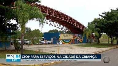 Ciop interrompe serviços na Cidade da Criança em Presidente Prudente - Consórcio disse que a Prefeitura está atrasando repasses.