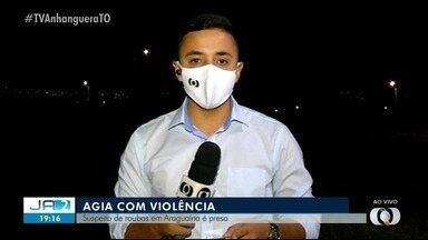 Suspeito de roubos em Araguaína é preso pela Polícia Civil - Suspeito de roubos em Araguaína é preso pela Polícia Civil