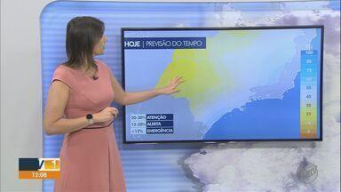 Veja a previsão do tempo deste sábado (1º) para Ribeirão Preto e região - Agosto tem previsão de ser seco, quente e sem chuva.