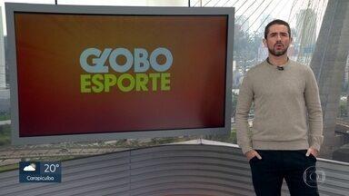 Veja o bloco do Globo Esporte no SP1 deste sábado, 01/08/2020 - Veja o bloco do Globo Esporte no SP1 deste sábado, 01/08/2020
