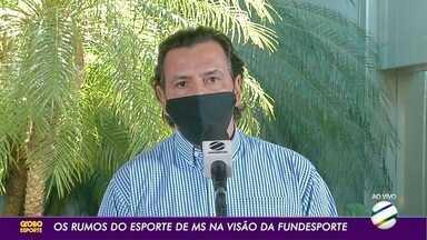 Os rumos do esporte de Mato Grosso do Sul na visão da Fundesporte - Os rumos do esporte de Mato Grosso do Sul na visão da Fundesporte