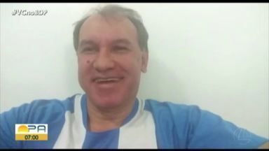 Vandick conta uma curiosidade da conquista da Copa dos Campeões com o Paysandu - Vandick conta uma curiosidade da conquista da Copa dos Campeões com o Paysandu