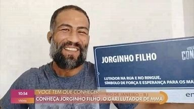 Você tem que conhecer: conheça Jorginho Filho, o gari lutador de MMA - Marcelo Falcão manda recado para Jorginho Filho