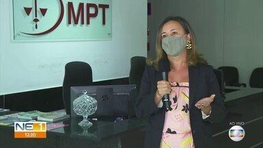 Procuradora do trabalho tira dúvidas sobre fiscalização do uso de máscaras em Pernambuco - Uso do equipamento de proteção individual passou a ser obrigatório no estado.