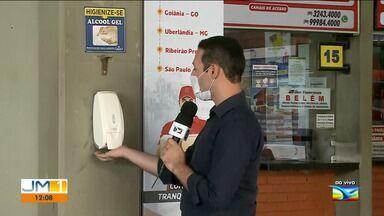 Aumenta o número de passageiros na Rodoviária de São Luís - O Terminal Rodoviário de São Luís fez adaptações para evitar o contágio e a propagação do novo coronavírus.