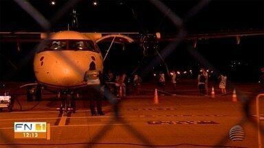 Companhia aérea retoma atividades no aeroporto de Presidente Prudente - Repórter Mateus Tarifa acompanhou a retomada do serviço.