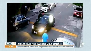 Arrastão no Vila União e moradores são vítimas de bandidos armados - Saiba mais no g1.com.br/ce