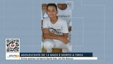Adolescente de 14 anos é morto com três tiros na cabeça - Adolescente de 14 anos é morto com três tiros na cabeça