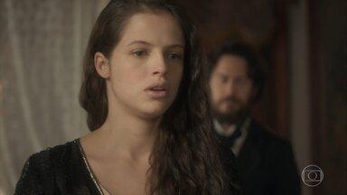 Domitila pede dinheiro a Thomas - Thomas sugere matar Benedita, mas Domitila nega. O oficial então pede cartas de Dom Pedro em troca
