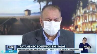 Prefeitura de Itajaí quer usar ozônio via retal para tratar a Covid-19 - Prefeitura de Itajaí quer usar ozônio via retal para tratar a Covid-19