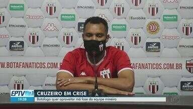 Botafogo-SP quer aproveitar má fase do Cruzeiro para começar bem a Série B - Time é o primeiro a ser enfrentado pelo Pantera.