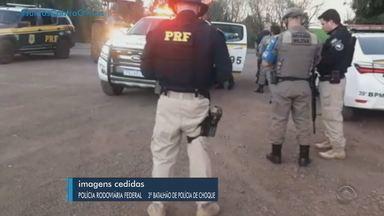 Operação prende três suspeitos de assalto a banco no interior de Novo Barreiro - Assista ao vídeo.