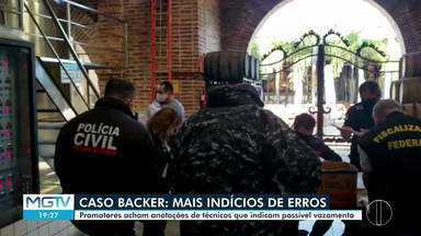 Polícia Civil e MPMG cumprem mandado de busca e apreensão em sede da Backer - Foram apreendidos relatórios originais da produção de cerveja.