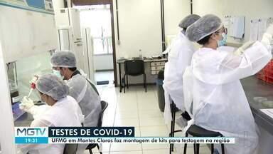UFMG monta kits de testes para diagnóstico da Covid-19 em Montes Claros - Previsão é de que 10 mil kits sejam montados.
