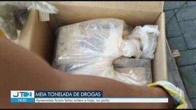 Receita Federal localiza 388 kg de cocaína no Porto de Santos - Droga estava escondida em carga que iria para um porto na Europa.