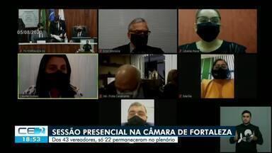 O retorno as atividades presenciais na Câmara de Fortaleza - Saiba mais em: g1.com.br
