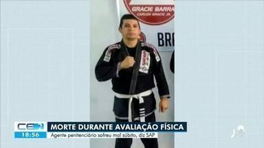 Policial penal morre durante avaliação física - Saiba mais em: g1.com.br