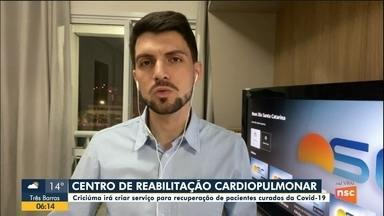 Criciúma vai criar centro de reabilitação cardiopulmonar para curados do coronavírus - Criciúma vai criar centro de reabilitação cardiopulmonar para curados do coronavírus