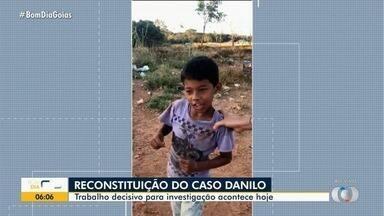 Polícia prepara reconstituição da morte do garoto Danilo, em Goiânia - Devem participar os dois presos, duas testemunhas e a mãe da criança.