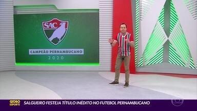 Globo Esporte/PE (06/08/20) - Globo Esporte/PE (06/08/20)