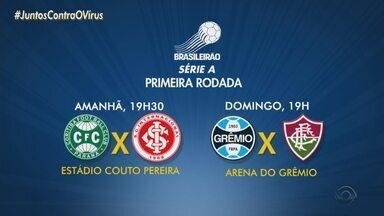Inter e Grêmio jogam neste sábado (8); confira os jogos - Times jogam pela série A do Campeonato Brasileiro de Futebol.