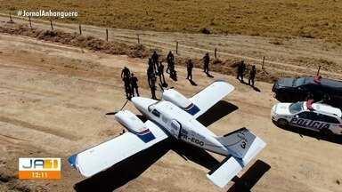 Polícia apreende mais de 20 aviões que eram usadas para transportar drogas em Goiás - Um fazendeiro foi preso.