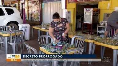 Decreto que reduz o tempo de funcionamento do comércio em Palmas é prorrogado - Decreto que reduz o tempo de funcionamento do comércio em Palmas é prorrogado