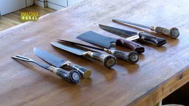 Bloco 1: Conheça a arte de produzir facas - Veja também os produtores rurais que apostam em novas alternativas de cultivo.