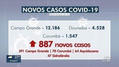 SES registra 23 novas mortes por COVID-19, 12 em Campo Grande - SES registra 23 novas mortes por COVID-19, 12 em Campo Grande