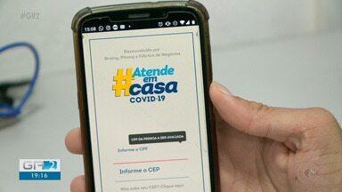 Secretaria de Saúde de PE lança app 'Atende em Casa' para auxiliar pacientes com Covid-19 - Atender pacientes, dar auxílio emocional às pessoas e ajudar os municípios pernambucanos nos agendamentos de testes para Covid 19.