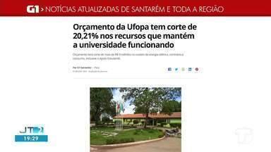 Confira os destaque do G1 Santarém e região - Acesse o portal pelo tablet, celular ou computador.