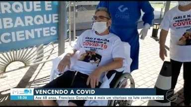 Aos 68 anos, Francisco Gonçalves é mais um vitorioso na luta contra o coronavírus - Aos 68 anos, Francisco Gonçalves é mais um vitorioso na luta contra o coronavírus