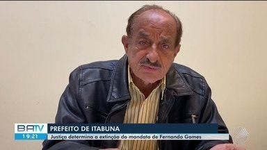 Justiça pede suspensão do mandato do prefeito de Itabuna, no sul do estado - O gestor ainda não foi notificado da decisão.