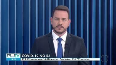 Confira o boletim diário da Covid-19 no estado do Rio desta sexta-feira, 07/08/2020 - No estado são 175.969 casos confirmados, com 14.028 mortes pelo novo coronavírus.