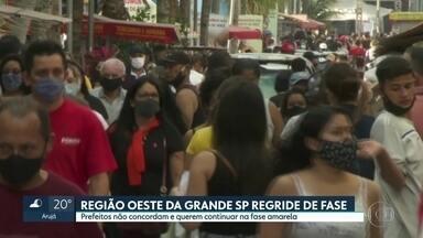 Plano SP rebaixa cidades da região oeste - O movimento no comércio na véspera do Dia dos Pais foi intenso na Grande São Paulo,
